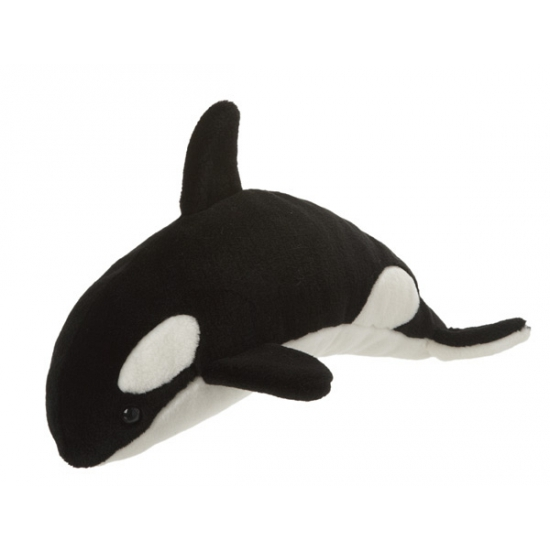 Knuffel orka 40 cm