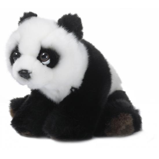 Knuffel pandaberen 15 cm floppy