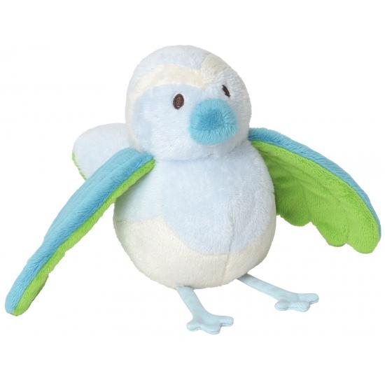 Knuffel rammelaar vogel 25 cm