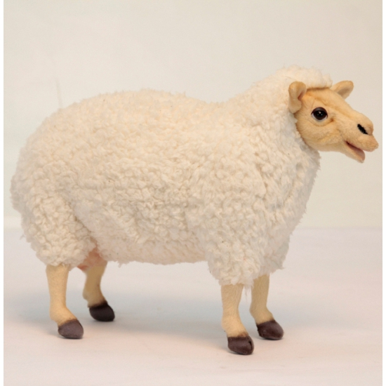 Knuffel schaap staand 38 cm