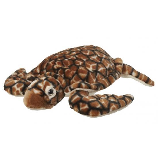 Knuffel schildpad bruin 30 cm