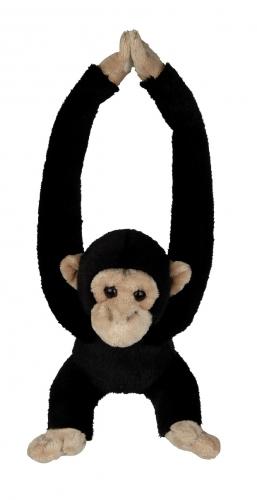 Knuffel van een chimpansee