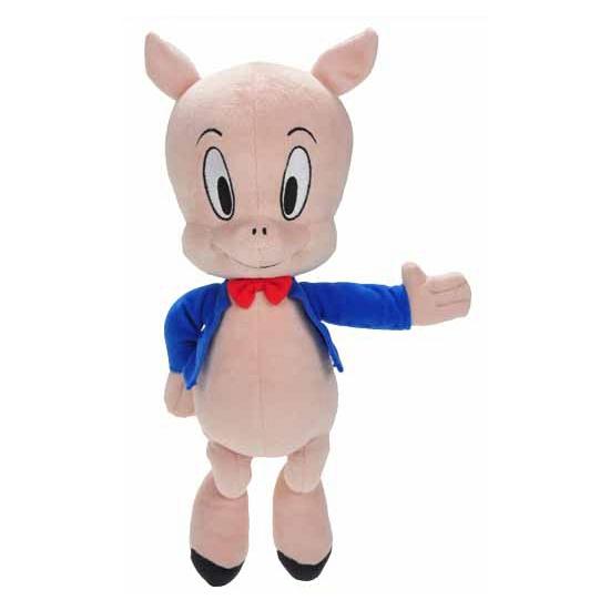 Knuffel varken Porky Pig 30 cm