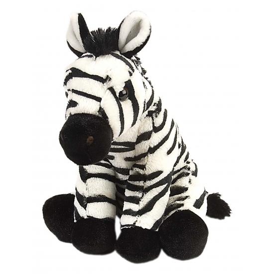 Knuffeldier zebra 30 cm