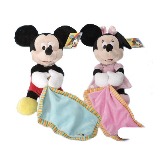 Knuffeldoek Minnie Mouse