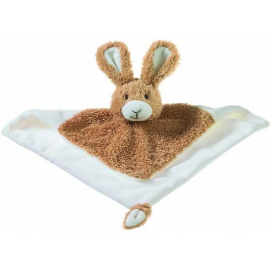 Knuffeldoekje konijn 34 cm