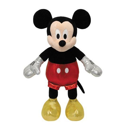 Knuffeltje Mickey Mouse die lacht 20 cm