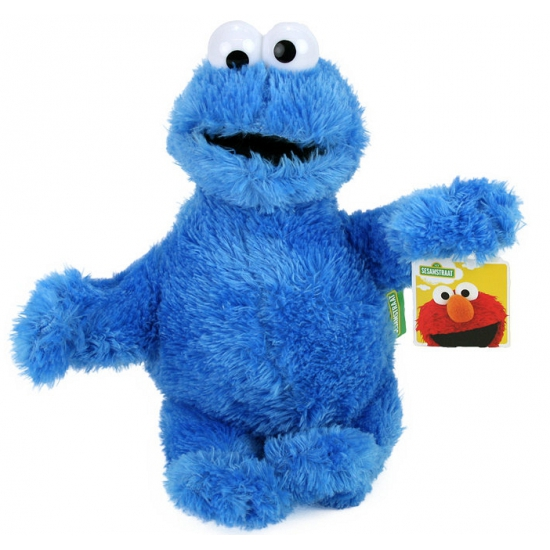 Koekiemonster knuffel uit Sesamstraat