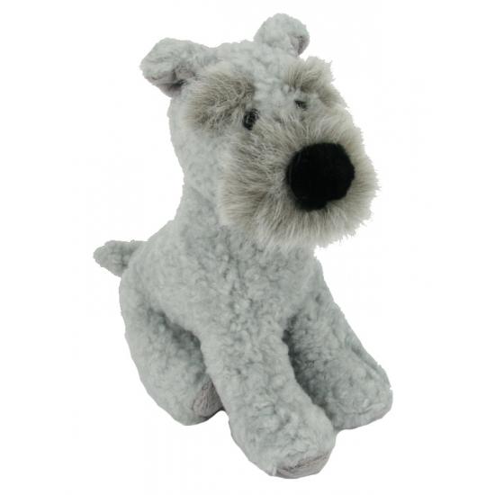 Kortharige Terrier knuffel 17 cm