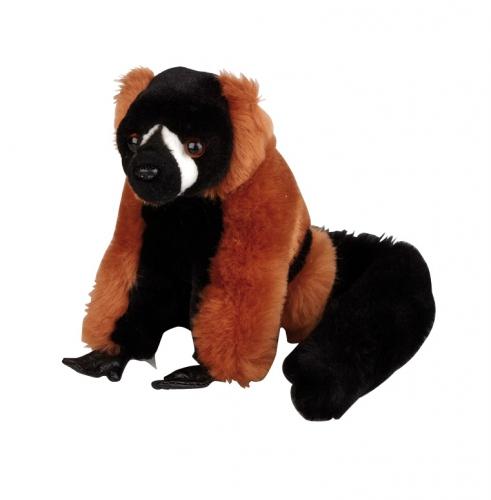 Lemur knuffeldier aap rood