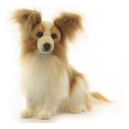Luxe papillon hond knuffeldier