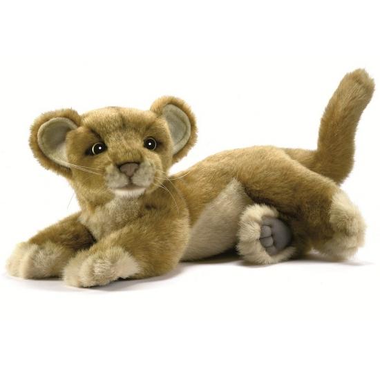 Luxe pluche leeuwen welp 26 cm