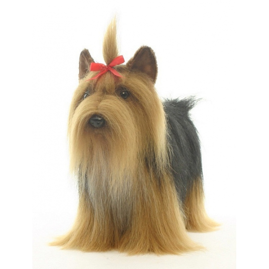 Luxe Yorkshire Terrier knuffel 38 cm