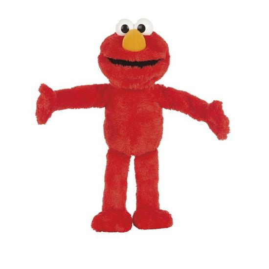 Mega Elmo knuffel 55 cm