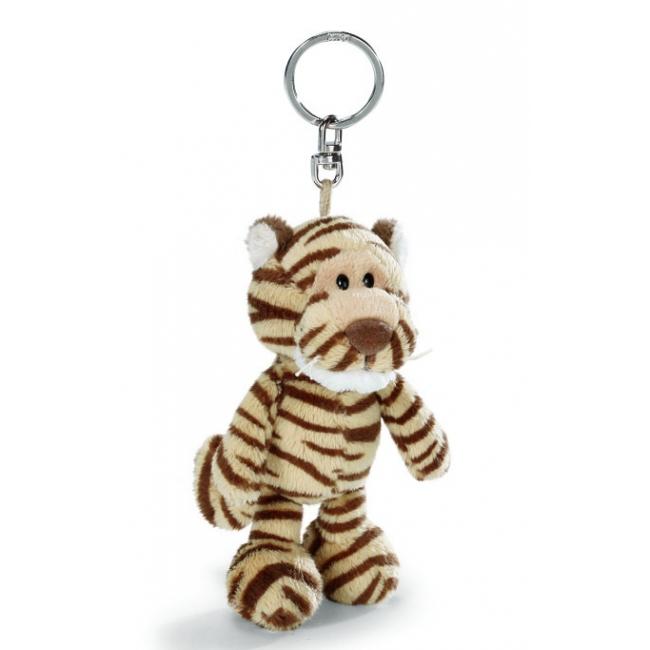 Nici sleutelhanger tijger 10 cm