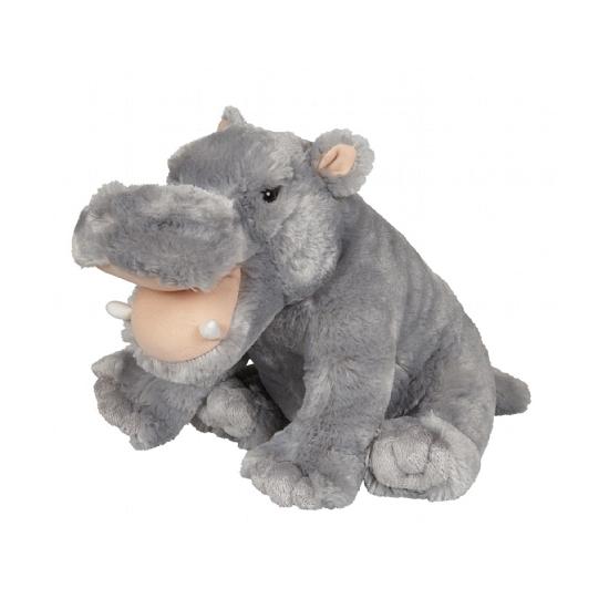 Nijlpaarden knuffeldier 30 cm