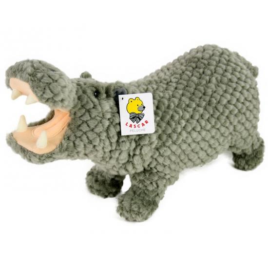Nijlpaardjes knuffeltje van 32 cm