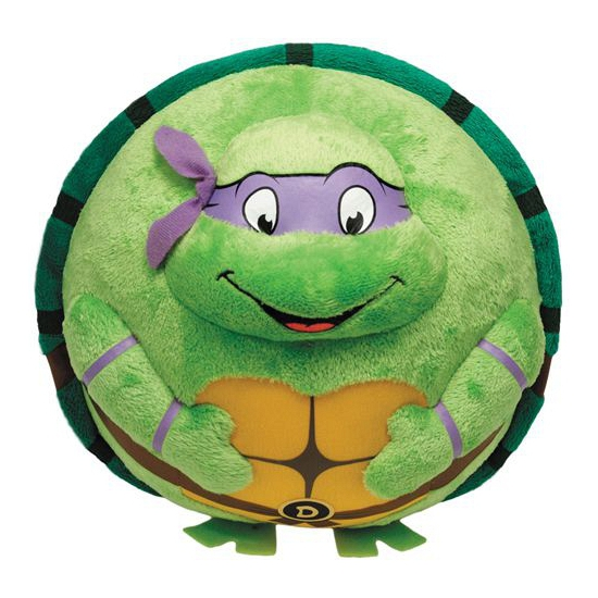 Ninja Turtles knuffel Donatello 12 cm