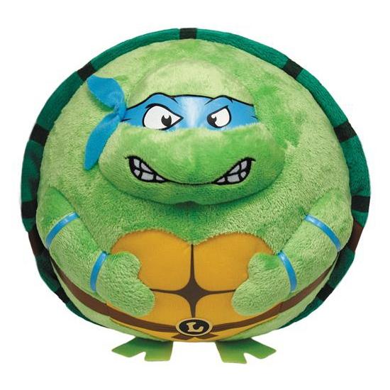 Ninja Turtles knuffel Leonardo 12 cm