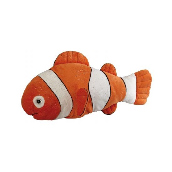 Oranje clownvis knuffeldier 35 cm