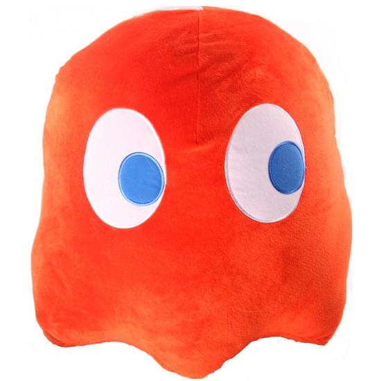 Pac Man oranje spookje knuffel 45 cm
