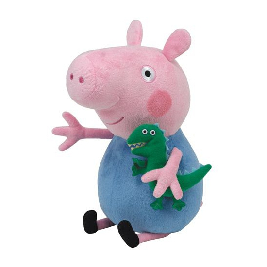 Peppa Pig biggetje George knuffel