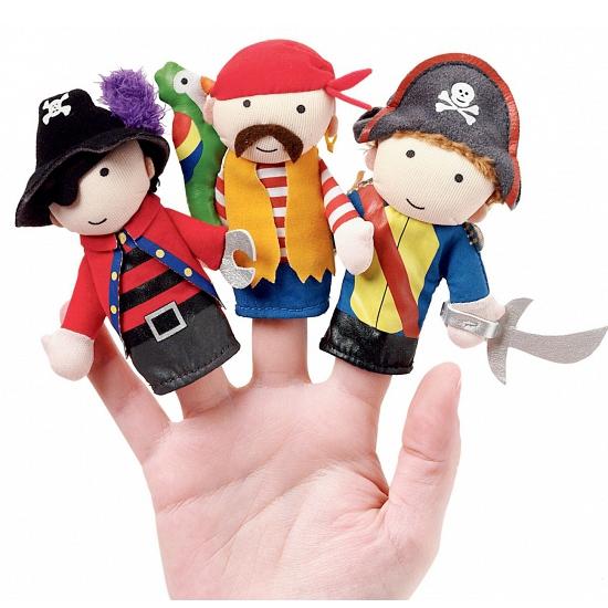 Piraten vingerpoppen setje