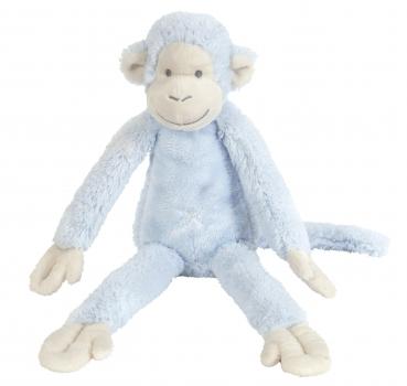 Pluche aapje Mickey blauw 33 cm