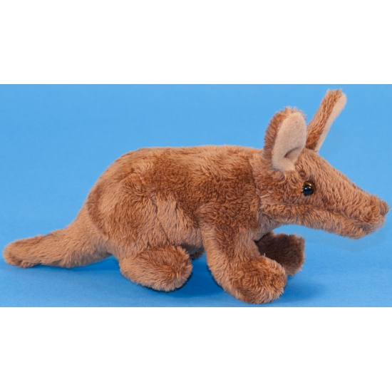 Pluche aardvarken knuffeltje 18 cm