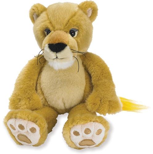 Pluche baby leeuw knuffeldier 28 cm