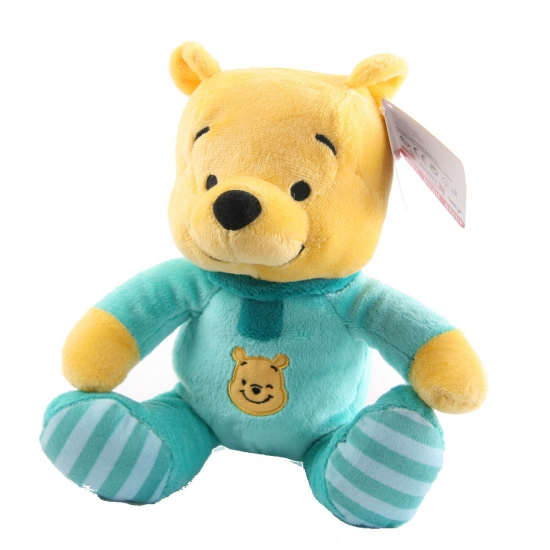 Pluche baby Winnie de Pooh knuffel 25 cm
