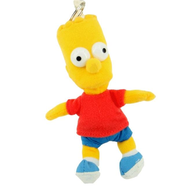 Pluche Bart sleutelhanger