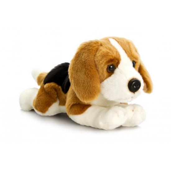 Pluche Beagle hond 90 cm