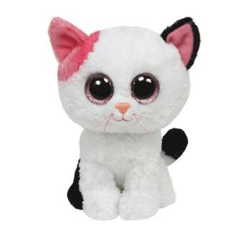 Pluche Beanie knuffel katje 15 cm