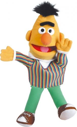 Pluche Bert handpop 41 cm