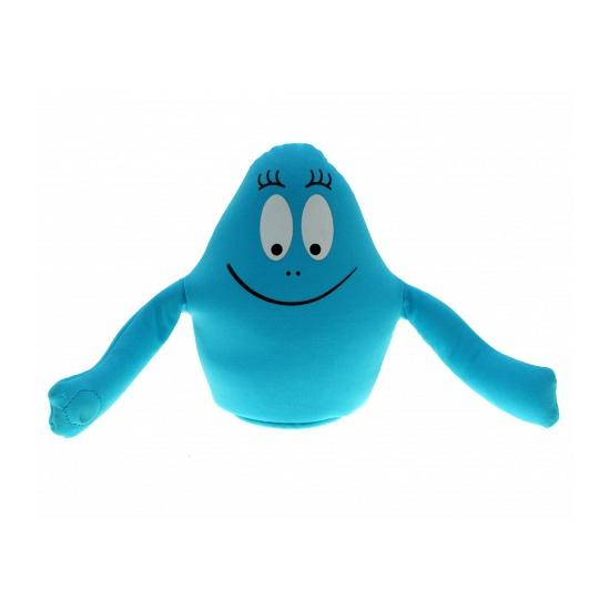 Pluche blauwe barbapapa 18 cm
