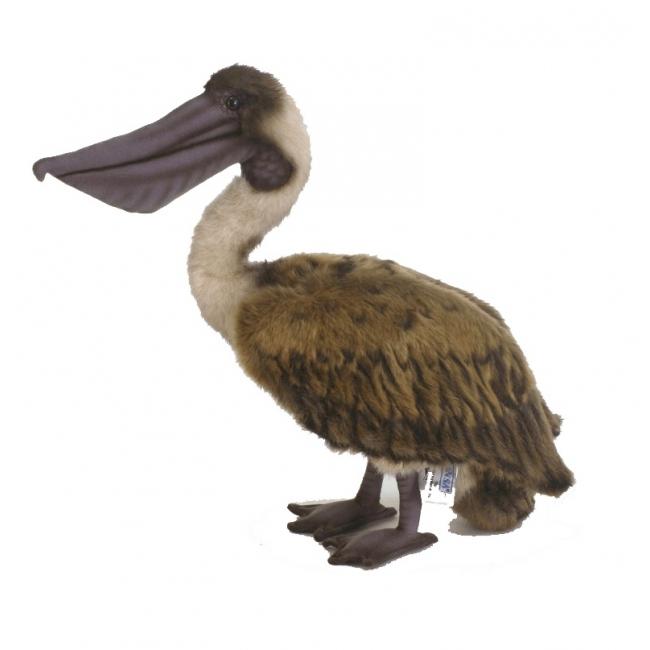 Pluche bruine pelikaan 38 cm