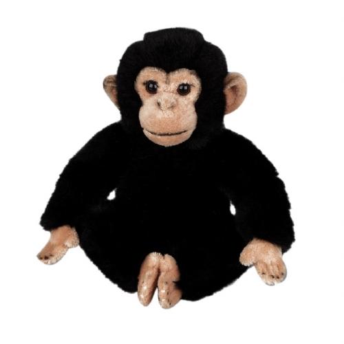 Pluche chimpansee knuffeldiertjes 25 cm