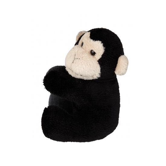 Pluche chimpansees klem 10 cm