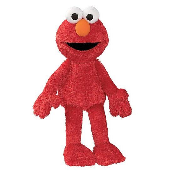 Pluche Elmo Sesamstraat knuffeltje