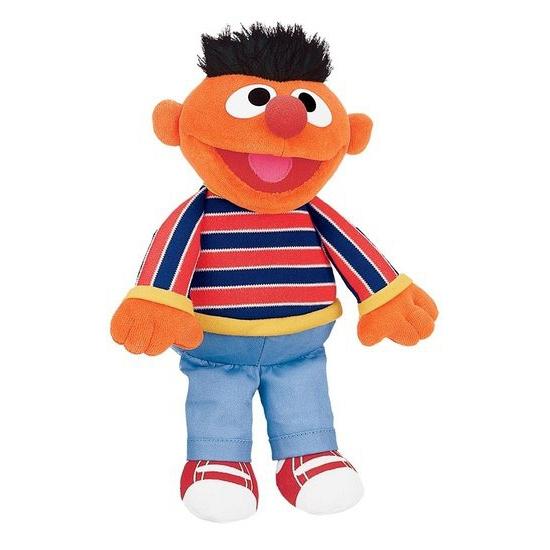 Pluche Ernie Sesamstraat knuffeltje