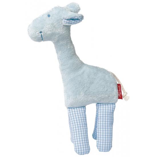 Pluche giraffe knuffeldieren 19 cm