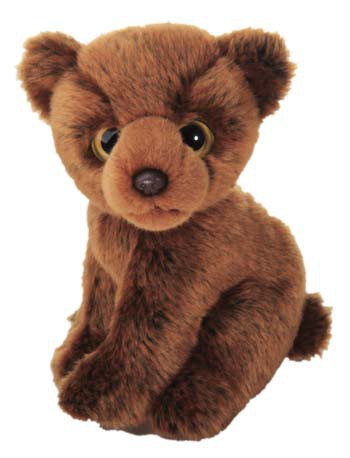 Pluche grizzly beer knuffels 18 cm