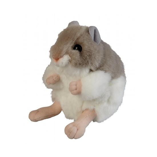 Pluche hamster knuffel 13 cm