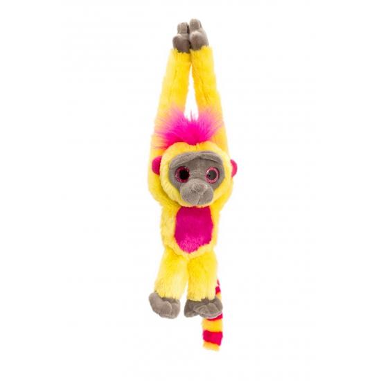 Pluche hang aap geel 48 cm