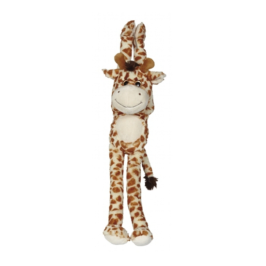 Pluche hangende knuffel giraffe 45 cm