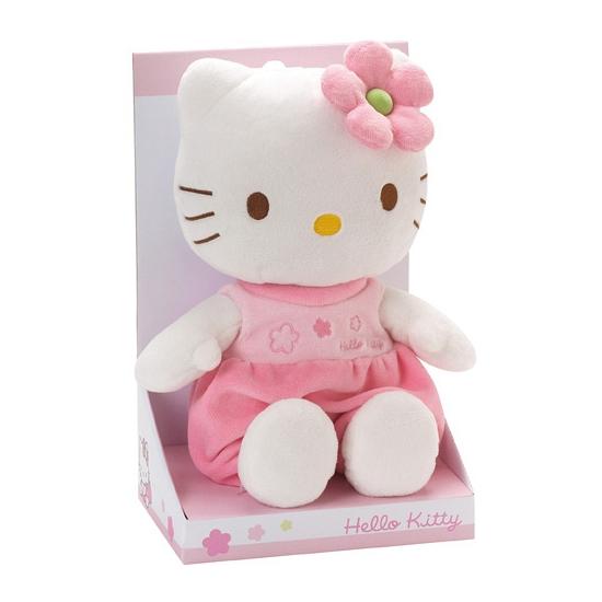 Pluche Hello Kitty knuffel 27 cm