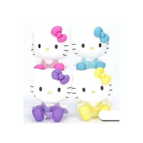 Pluche Hello Kitty knuffel paars 45 cm