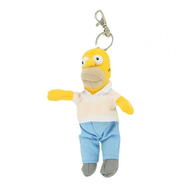 Pluche Homer Simpson sleutelhanger