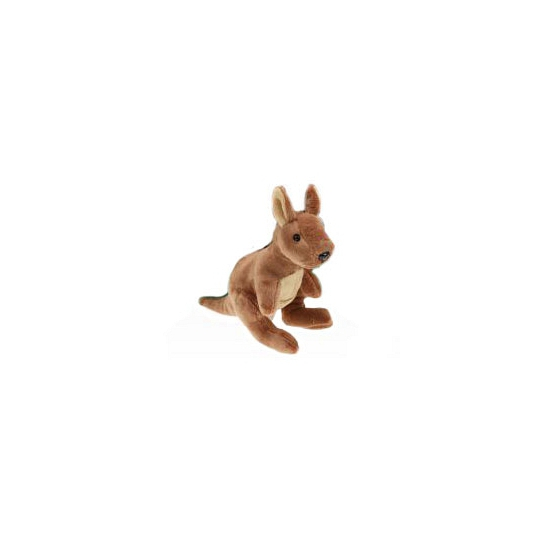 Pluche kangoeroe 19 cm